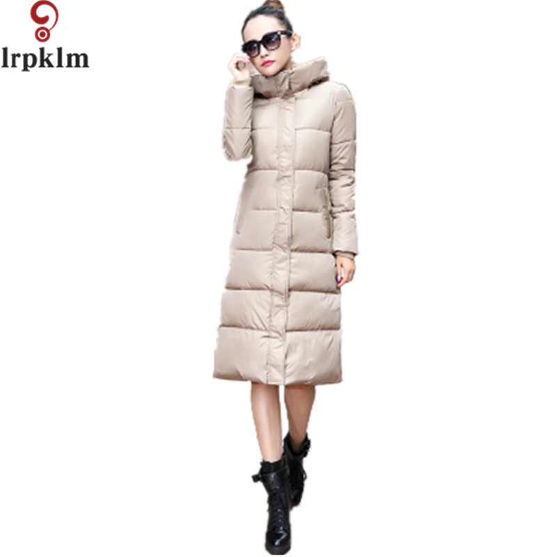 Women Winter Coat Jacket Warm Woman Parkas Female Overcoat High Quality Quilting Cotton Coat 2017 New Winter Collection LZ126 women winter coat jacket warm woman parkas big fur collar female overcoat high quality thick cotton coat 2017 new winter parka