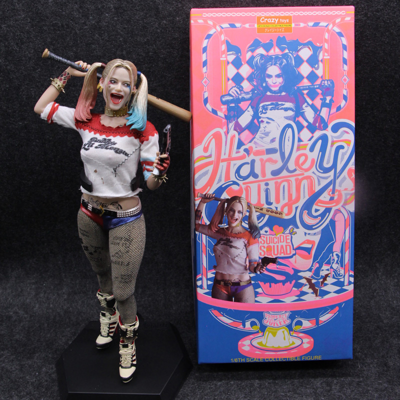 """New Crazy Toys Suicide Squad Harley Quinn 1//6th Scale 10/"""" Collectible Figure box"""
