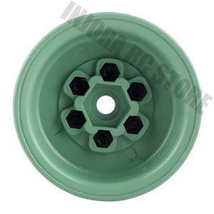 "Image 4 - 4PCS 1.9"" Metal Beadlock Wheel Rim for 1/10 RC Crawler Car Axial SCX10 Tamiya CC01 D90 Defender Traxxas TRX 4 Wheel Hex"