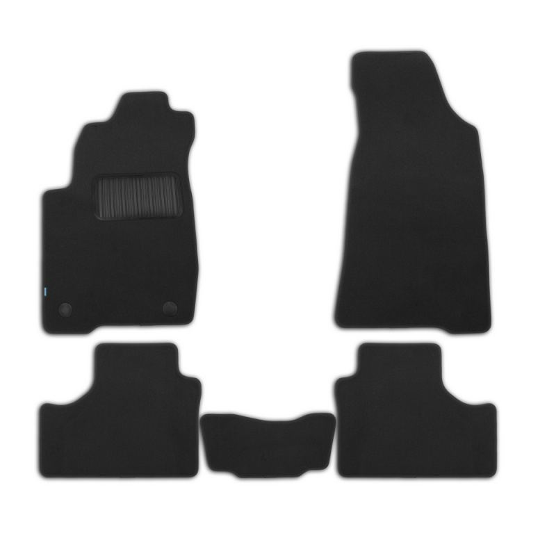 Mats in salon Klever Premium For CHEVROLET NIVA 2009->, cross... 5 PCs (textile) mats in salon сртк chevrolet еpikа 09 rubber ch ep 06 10 g 02043
