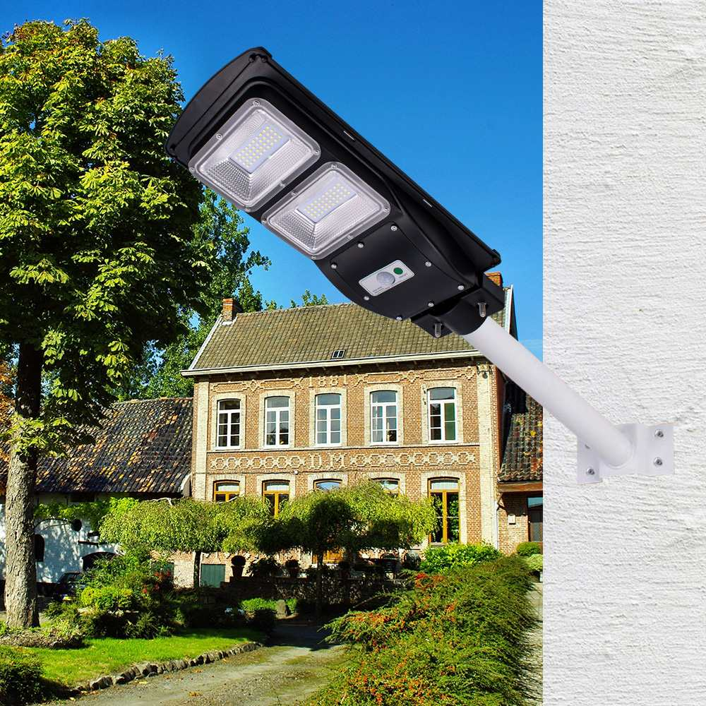 Waterproof Outdoor Wall Street Light 40W Solar Powered Radar Motion+Light/Remote Control for Garden Yard Street Flood LampWaterproof Outdoor Wall Street Light 40W Solar Powered Radar Motion+Light/Remote Control for Garden Yard Street Flood Lamp