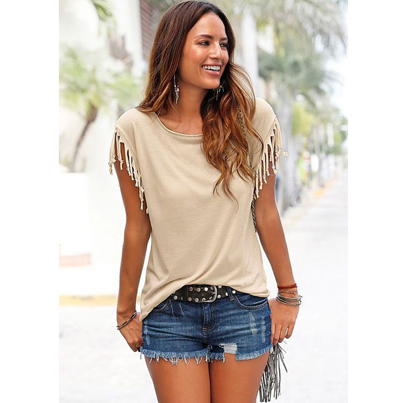 2016 summer women t shirts top selling short sleeve pure for Best t shirts for summer