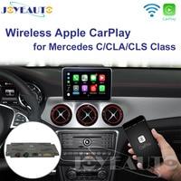 Joyeauto Wifi беспроводной Carplay Android авто зеркало модифицированное для Mercedes C CLA класс CLS NTG 5,1 5,2 5,5 для камеры заднего вида