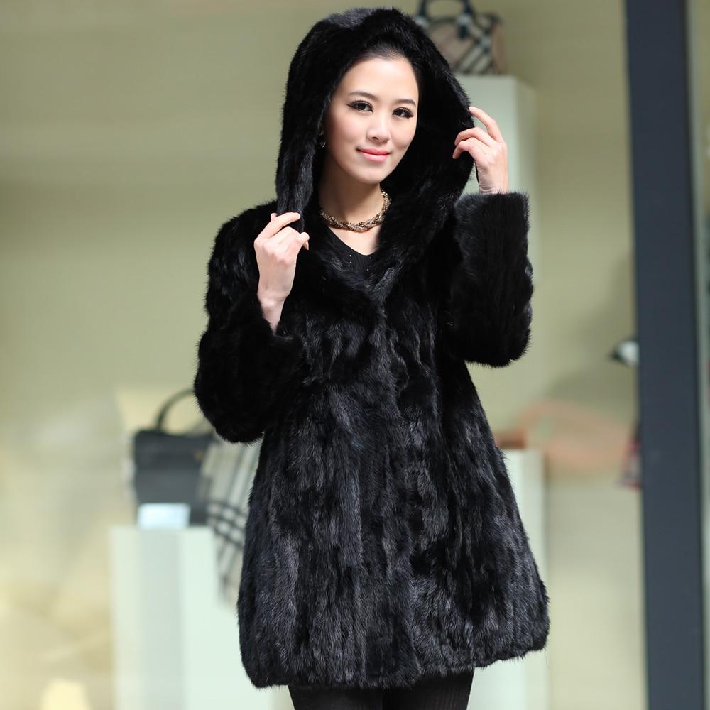 Aliexpress.com : Buy Winter Ladies' Fashion Genuine Natural Piece ...