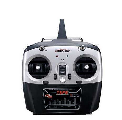 F18738/9 RadioLink T8FB 2.4GHz 8ch RC Transmitter R8EF Receiver Combo Remote Control For RC Helicopter DIY RC Quadcopter Plane