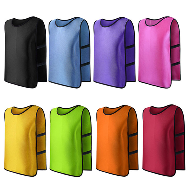 New Team Training Scrimmage Vests Soccer Basketball Youth Adult Pinnies Jerseys New