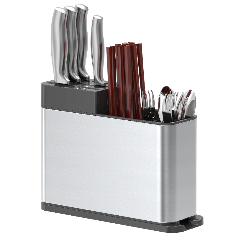 Stainless steel knife rack high quality chopstick cage fork shelves spoon holder reinforced kitchen supplies cutlery organizerStainless steel knife rack high quality chopstick cage fork shelves spoon holder reinforced kitchen supplies cutlery organizer