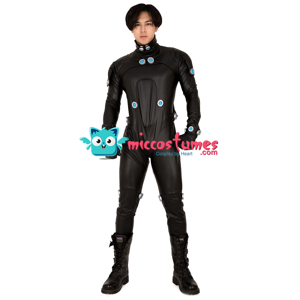 Image 2 - GANTZ Cosplay Costume Jumpsuit for Men-in Game Costumes from Novelty & Special Use