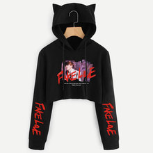 Love Yourself Tear Cat Hoodies