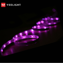 Authentic Xiaomi Yeelight RGB Clever Mild Sensible House Mi App Wifi Colourful LED Clever Scenes 60 Led DIY Strip modify