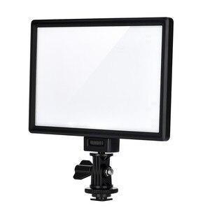 Image 3 - Viltrox L116T Super Slim Studio LED Video Light 3300K 5600K Bi color LCD Display CRI95+ for DSRL Camera Camcorder +2M AC Adapter