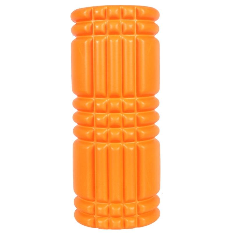 33*14 CM EVA Top + PVC/ABS Tube Yoga rouleau de mousse épi haute densité virgule flottante rouleau de Massage Fitness Pilates équipement de gymnastique