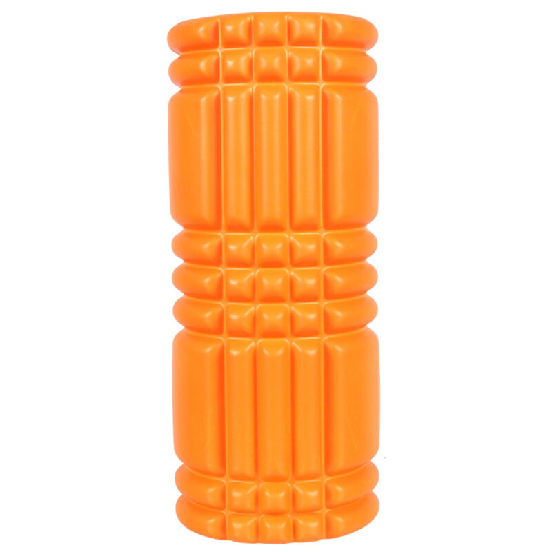 все цены на 33*14CM EVA Top + PVC/ABS Tube Yoga Foam Roller Spike High Density Floating Point Massage Roller Fitness Pilates Gym Equipment онлайн