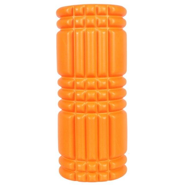 3314cm Eva Top Pvc Abs Tube Yoga Foam Roller Spike High Density Floating Point Massage Roller Fitness Pilates Gym Equipment
