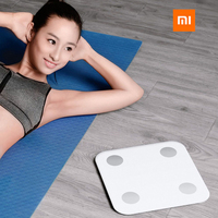 2019 New Xiaomi Scale 2 Smart Body Fat Weight Scale Bluetooth Mifit APP 13 Body Data Xiaomi Balance mi Smart Weight Body Scale