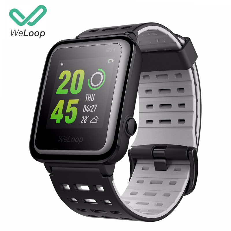 [Глобальный английский] Weloop Hey 3 s смарт часы Multi Спортивные часы Для мужчин Для женщин GPS + GPS 50 м водонепроницаемый bluetooth сердечного ритма Мони