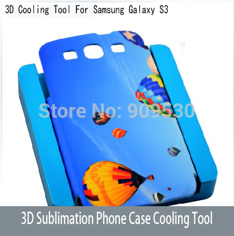 3D Sublimation Phone Case Cooling Tool For Samsung Galaxy s3 Cooling mould  цены