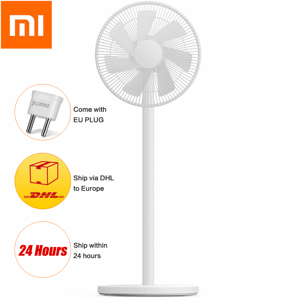 Xiaomi Mijia 1X DC Frequency Conversion Fan APP Control /AI Voice For Home Cooler Floor Standing Fan Air Conditioner Natual Wind Fans    - title=