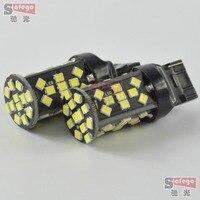 2X Car LED down lights decoding lights 1156 T20 48SMD 2835 reversing lights super bright Car LED 12V backup light bulbs