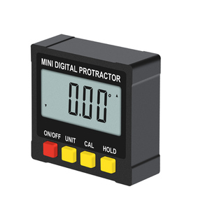 Image 2 - 360 Degree Mini Digital Inclinometer Level Electronic Protractor Angle Ruler Measurment Gauge Meter Finder with Magnet Hot Sale