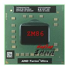 AMD Turion ZM X2 Ultra ZM-86 86 ZM86 CPU Processador de 2.4 GHz Dual-Core Dual-Fio TMZM86DAM23GG Tomada s1