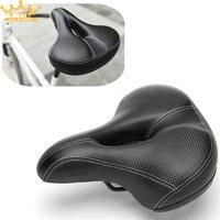 Wide Bicycle Seat Thicken Bike Saddle Bicicleta Seat Cycling Saddle MTB Cushion Asiento Bicicleta Sponge Soft
