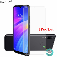2Pcs For Xiaomi Redmi 7 Glass Tempered Film Phone Screen Protector for Note 7A 6A 6 5A 4A