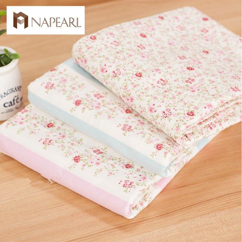 ᓂTela 100% algodón ropa de cama de bebé tela de algodón tela 100 ...