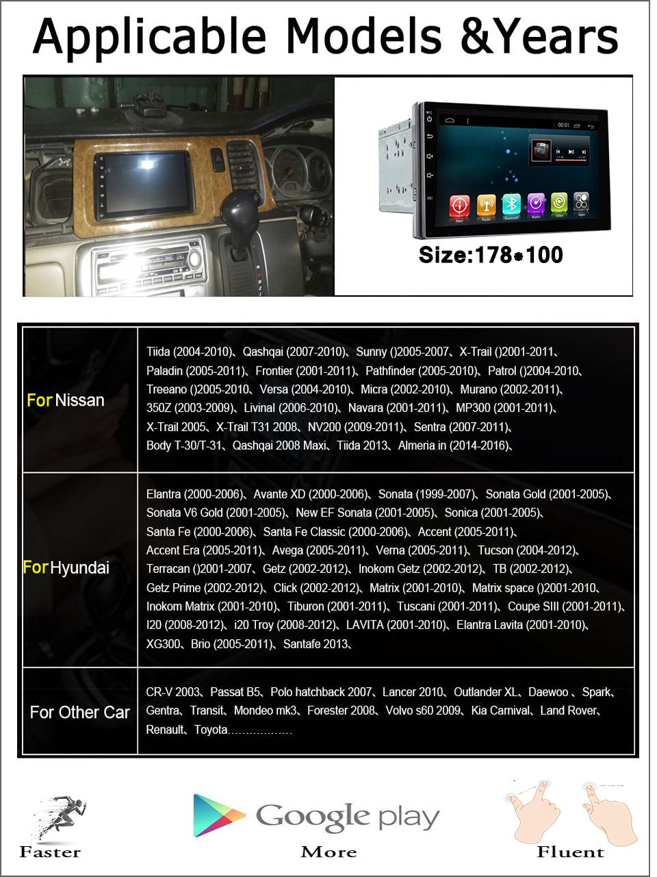 Top 8 Core 1024x600 Android 7.1 Car DVD GPS for Daihatsu Terios Eco Wild Perodua Nautica 2006-2012 with BT Radio Wifi 3/4G Head unit 2