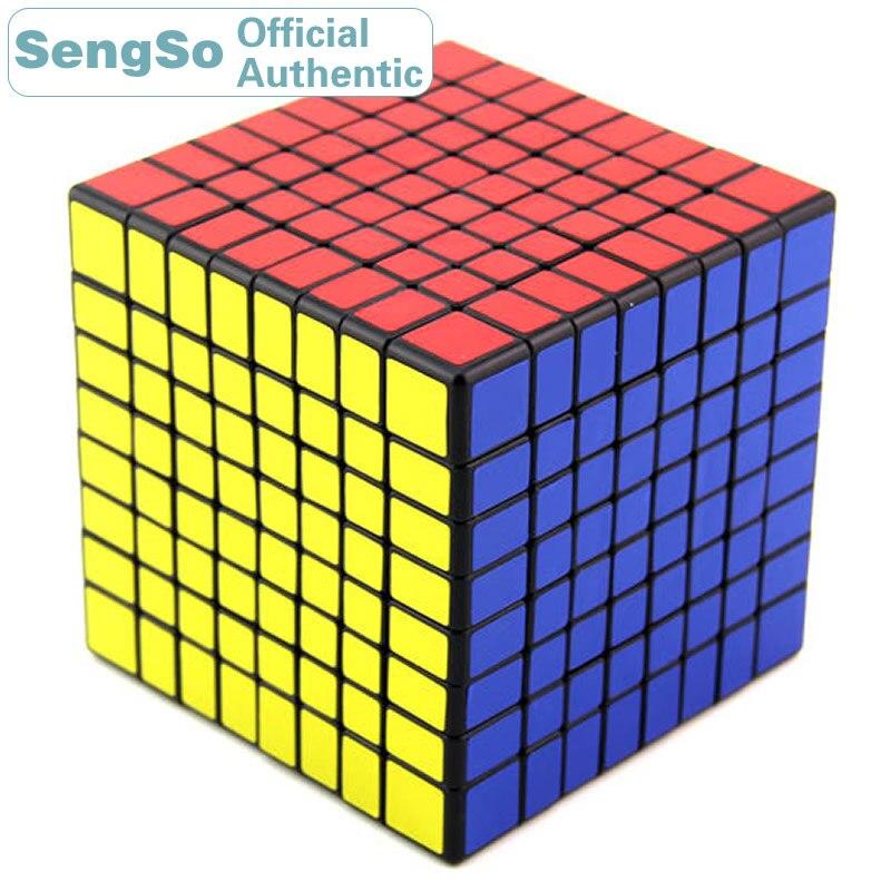 ShengShou 8x8x8 Cube magique 8x8 Cubo Magico professionnel néo vitesse Cube Puzzle Antistress Fidget jouets pour enfants