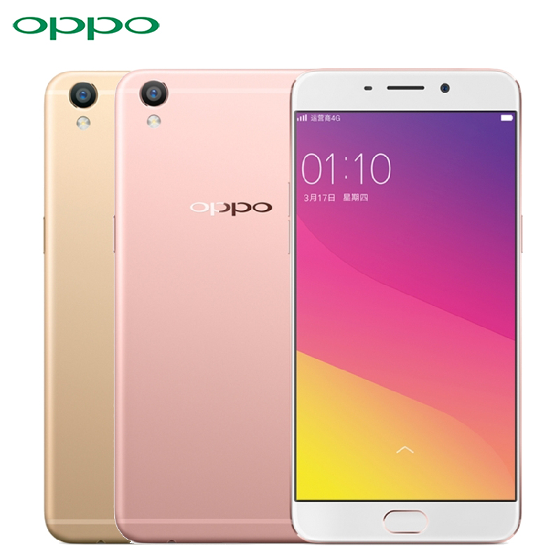 Original OPPO R9 Plus Cell Phone Snapdragon MSM8976 Octa Core RAM 4GB ROM 64GB 6.0 inch Screen 13.0mp Camera 4120mAh Smartphone