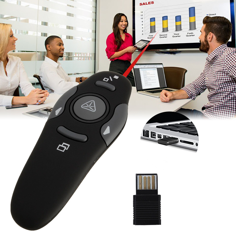 Wireless Presenter remote control-Ultra-Slim Wireless Receiver (2)