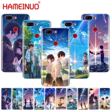 HAMEINUO Your Name Anime Coque cover phone case for Oneplus one plus 5T 5 3 3t 2 X A3000 A5000