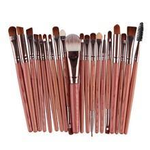 20 pcs Professional Makeup Brushes Set For Women Face Lip Eyebrow Shadow Make Up Brush Set Kit