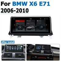 hd מסך אנדרואיד 8.0 עד DVD לרכב Navi Player עבור BMW X6 E71 2006 ~ 2010 סטריאו CCC אודיו HD מסך מגע הכל באחד (1)