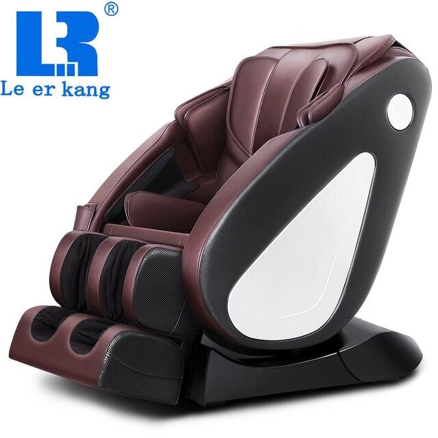 LEK988C Профессиональное массажное кресло всего тела пространство капсула автоматическая многофункциональный Замес Массажер электрический музыкальный диван стул