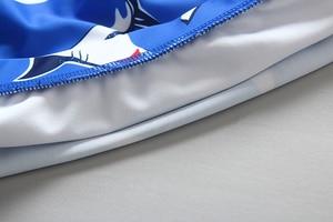 Image 5 - Kinderen Badmode 2019 Zomer Peuter Jongen Badpak Shark Print Twee Stukken Rash Guards Met Cap Kinderen Badpak Strand kostuum