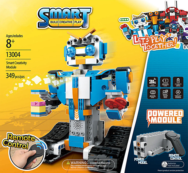 New RC tracked Remote Control fit legoings technic smart Robot BOOST motor power function DIY building Blocks Bricks Toy kid boy