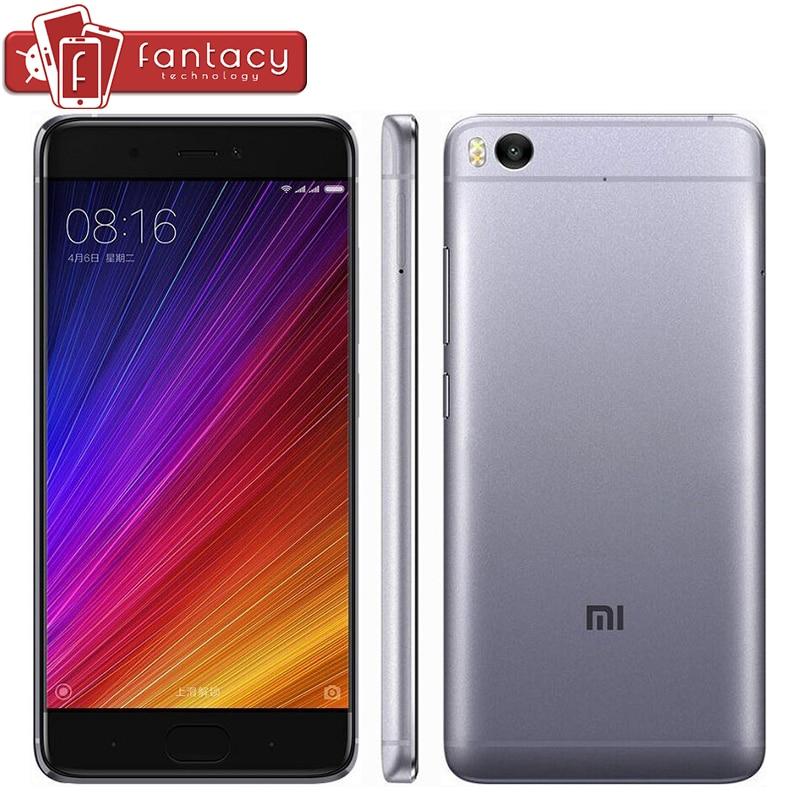 "bilder für Original Xiaomi Mi5s Mi 5 s 4 GB 128 GB Handy Snapdragon 821 Quad Core Fingerabdruck ID FDD 4G 12MP 5,15 ""1080 P MIUI NFC"