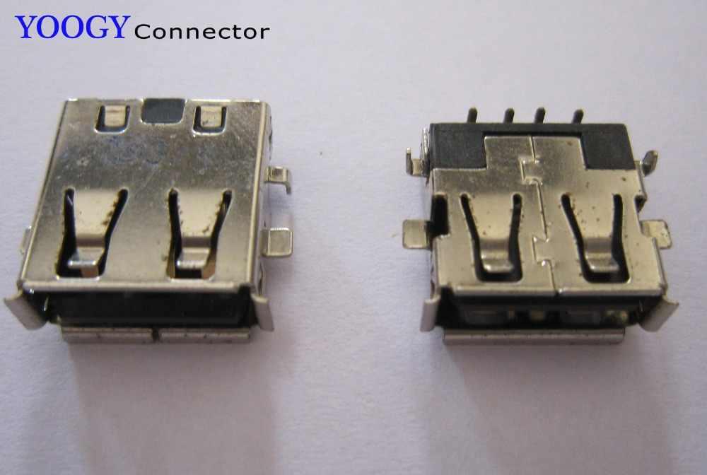 כושר מחבר USB נקבה עבור Toshiba Satellite E205 האם מחשב נייד סדרה 5050 Acer Aspire 3000 ZL5 שקע יציאת usb2.0