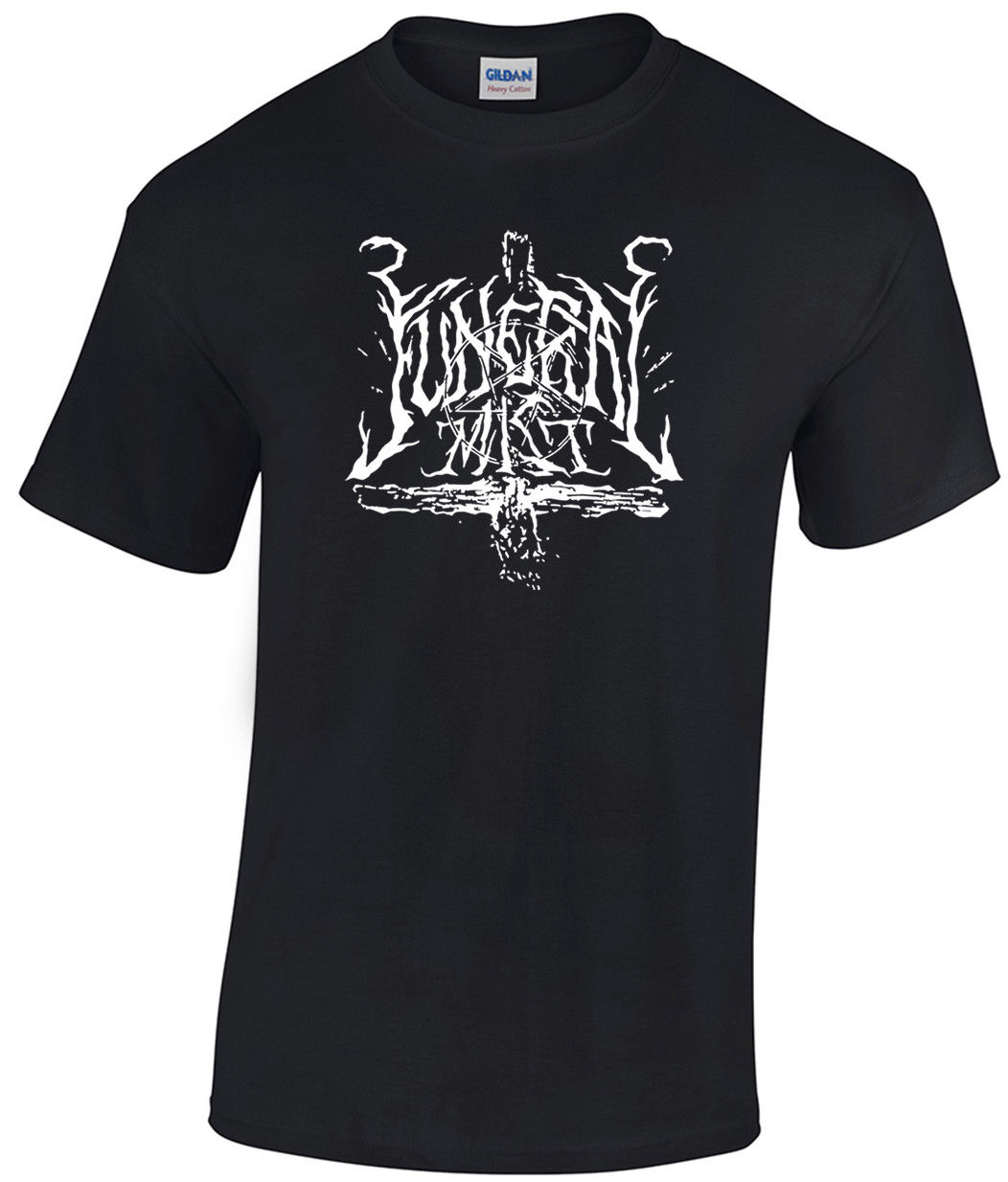 FUNERAL MIST Logo T-shirt Marduk Blaze of Perdition Watain Dark Funeral Ondskapt Summer Fashion Men T Shirt Summer ...