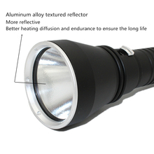 Super Brightness Cree XHP70 LED Yellow/White Light 4000 Lumens Diving Flashlight Tactical 26650 Torch Underwater 100M Waterproof