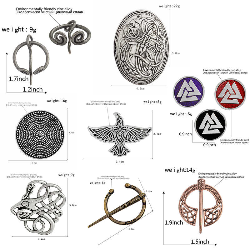 Viking Simbol Kekuatan Pin dan Senjata Yang Melambangkan Mewakili Sejarah dan Budaya Bros dari Honor untuk Hadiah Teman
