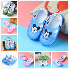 2018 Summer Kid Toddlers Girl Sandals Princess Shoes Boys Soft Baby Flat Sandals Children Shoes Flip Flops Slipper Beach Sandals