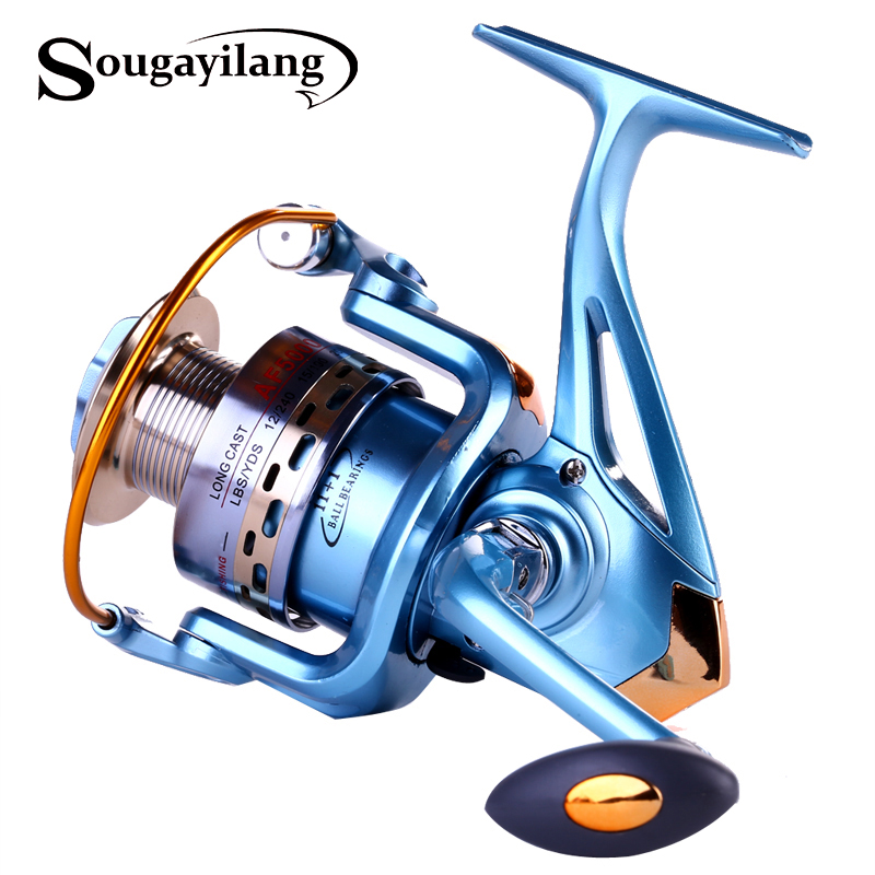 Sougayilang full metal body high quality carp fishing for Sougayilang spinning fishing reels