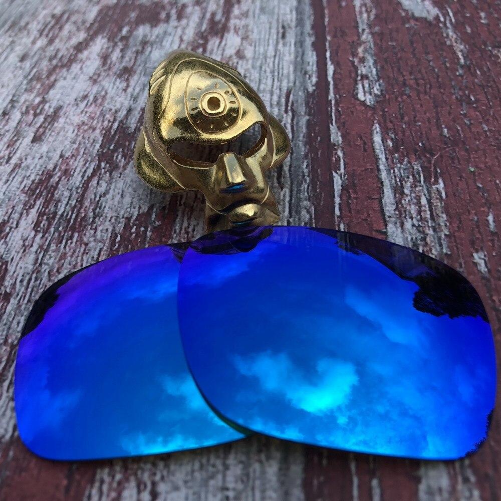 Toptan Glintbay 100% hassas Fit için polarize yedek lensler Oakley Holbrook Sunglass-buz mavisi ayna