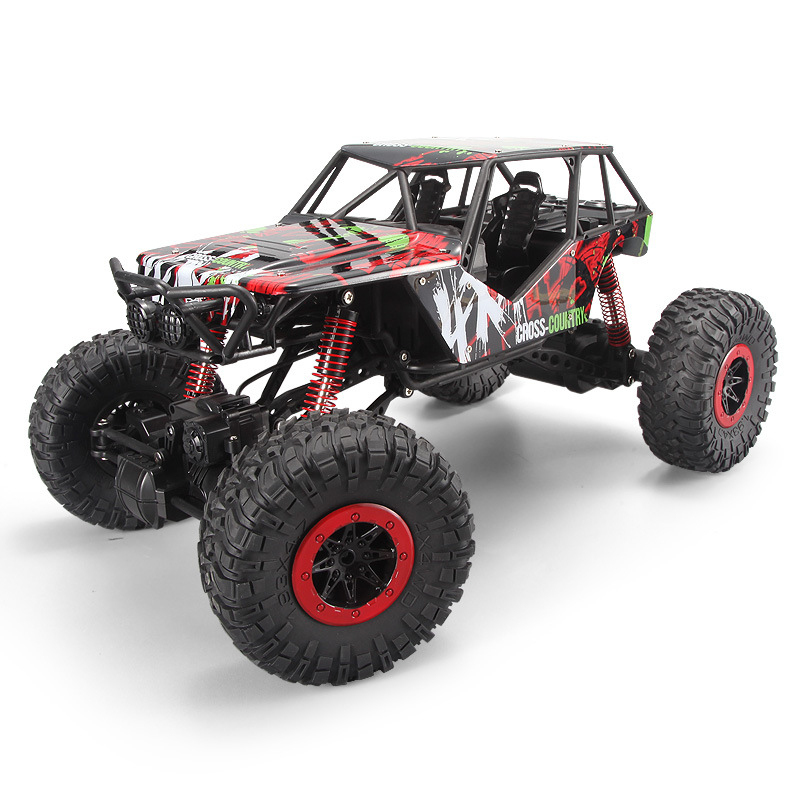 Off-road 4WD rc car 1/10 monster truck climbing Car Racing Off-road Big Wheels Rock Crawlers Crash proof rc toys car best gift hsp rc car 1 8 nitro power remote control car 94862 4wd off road rally short course truck rtr similar redcat himoto racing