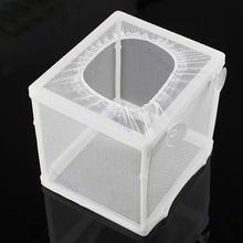 Aquarium Fish Hatchery Isolation Net Box Fish Breeding Incubator Box For Tropical Marine Fish Hanging-on Compact Design