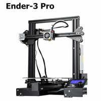 Nueva actualización Ender-3 Pro CREALITY 3D Kit de impresora con etiqueta adhesiva Cmagnetic Bulid para volver a imprimir fuente de alimentación de la marca