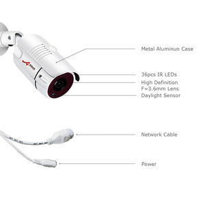 Image 5 - ANRAN Onvif P2P 5MP IP CameraH.265 POEกลางแจ้งตรวจจับการเคลื่อนไหวกล้องรักษาความปลอดภัยWterproof 1944จุดHDเฝ้าระวังกล้องวงจรปิดIP